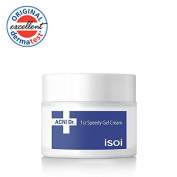 isoi ACNI Dr. 1st Speedy Gel Cream 50ml - natural moisturising gel cream, for acne-prone and sensitive skin