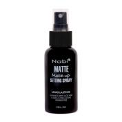 Nabi Cosmetics Matte Makeup Setting Spray Long Lasting Enhanced with Aloe Vera