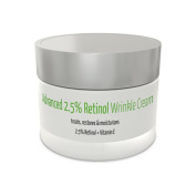 Advanced 2.5 Retinol Wrinkle Cream | 2.5% Retinol + Vitamin E | All-Natural & Organic