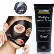 Kinghard Black Mud Deep Cleansing Purifying Peel Off Facail Face Mask