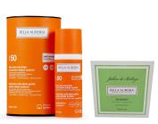 Bella Aurora Sunscreen Anti-dark Spots Spf 50+. Sensitive Skin + Sérénité Soap 100gr