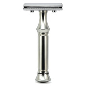 Timor Safety Razor Stainless Steel 80 mm Handle | VINTAGE EDITION | Designed and Made in Germany