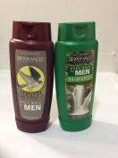 2x bottles - Spa Haus Body Wash for Men Rain Forest & FalconRidge 470ml