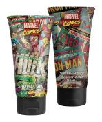 Marvel Comics Hero Duo, Shower Gel, Deodorant Gift Set