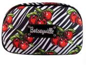 Betsey Johnson Betseyville Cosmetic Bag, Cherry Bomb