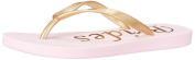 Betsey Johnson Women's Sb-Amy Flip Flop, Gold