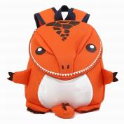 WEN FEIYU Little Kids Backpack 3D small dinosaur School school bag