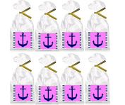 CakeSupplyShop Pink Nautical Party & Cupcake Decoration Supplies