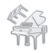 Katoot@ DIY Piano Craft Embossing Metal Cutting Dies Stencil for Scrapbooking Photo Album Decorative Paper Card Cutter