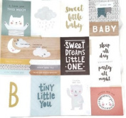 Sweet Little Baby Pocket Pages 12x12 Scrapbook Paper - 4 Sheets