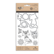 Art C Stamp & Cut, Doodle Dream Fox