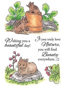Inky Antics Forest Critters Clear Stamp Set