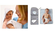 Shnuggle Bundle - Bumgo Changing Wrap and Hooded Wrap Towel - 2 Items Supplied
