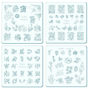 Nail Stamping Plates Kit CICI & SISI Nature Series