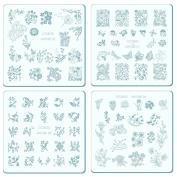 Nail Stamping Plates Kit CICI & SISI Nature Series