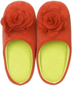 Rose slippers Red