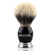 Anbbas Super Grade Badger Shave Brush,Resin & Alloy Design Handle for Man Grooming