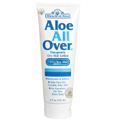 Miracle Of Aloe Miracle Of Aloe All Over Lotion Cream 240ml Best Dry Lotion Ideal Dry Skin Lotion For Your Whole Body, Foot, Hand, Arms, Legs, Shoulders