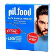 Pilfood Pack Energy Man 60 Tablets + CHAMPU ANTICAIDA