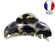709 – 004 – Pliers for Hair French PVC CM 9 Camouflage BEIGE-NERO