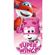 Poncho Towel Super Wings Jett & Dizzy Microfibre