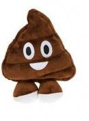 Icons Soft Toy Emoticon - Poo 20cm / 8""