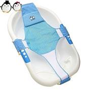 StillCool Newborn Baby Bath Seat Support Net Bathtub Sling Shower Mesh Bathing Cradle Rings for Tub
