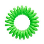 Mage, Hair Accessories Hair Ring and Bracelet – Green – Pack of 5 hair Invisible, Pain, Reduces Hair Band
