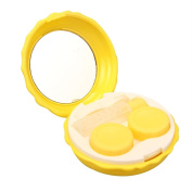 Anshinto Contact Lens Travel Case Pocket Size Storage Holder Soaking Container