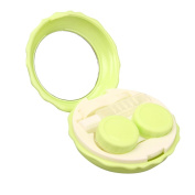 ZTY66 Plastic Contact Lens Travel Kit Case Pocket Size Storage Holder Soaking Container