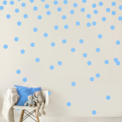 Cute Polka Dot Nursery Wall Decals Round Circles Wall Stickers Decor Wall Art for Babyroom Living Room Decoration Gifts