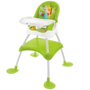 Fisher Price 4 in 1 Jungle Baby Feeding High Chair Infant Booster Seat Toddler Table And Stool DVM429866