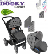 Original Dooky Blanket * * * * UNIVERSAL multi-soft/Baby Blanket/Baby Blanket Hug For Stroller/Car Seat/Bed and other