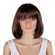 New Fashion Stylish Multi-Colours 30cm Short Straight BOB Style Party Hair Wig