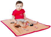 Finn + Emma | Play Mat | Baby Girl | Hipster Collection | 100% Organic Cotton