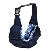 New Born Baby Infant Adjustable Wrap Sling Carrier Backpack Pouch Baby Nursing Care Product Sea Pattern
