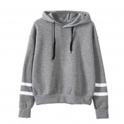 Ikevan 2017 Hot Selling Women's Tops Long Sleeve O-Neck Hoodie Sweatshirt Sweater Pullover Blouse