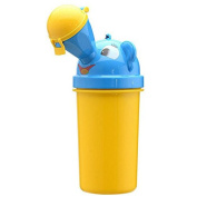Cute Kids Potty Training Portable Travel Urinal Car Emergency Toilet Pee Bottle For Baby Boy and Girl