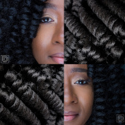 Curly Crochet Hair for Crochet Braids and Hairstyles, 20 Pre Curled Spirals Per Bag