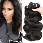 HANNE 300G Brazilian Virgin Hair Body Wave Curly Hair Virgin Brazilian Hair Weaves Human Hair Extensions