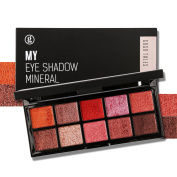 Professional Mineral Shimmer Eyeshadow Palette -Highly Pigmented Natural Eye Shadow Highlight Bronzer Set