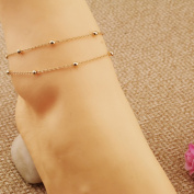 Aukmla Hot Summer Ankle Accessories for Women, Vintage Foot Bracelets for Girls