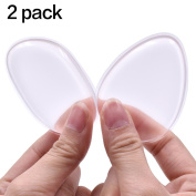 2PACK Silicone Makeup Sponge, MAANGE Cosmetics Silisponges Powder Blender for BB/CC Cream Save Your Expensive Foundation Makeup