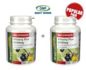 SimplySupplements Bilberry Plus 6000Mg Bundle Deal 360 Capsules In Total