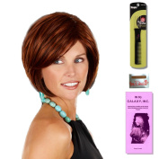 Holly by Henry Margu, Wig Galaxy Hair Loss Booklet & Magic Wig Styling Comb/Metal Pick Combo (Bundle - 3 Items), Colour Chosen