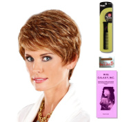 Elite by Henry Margu, Wig Galaxy Hair Loss Booklet & Magic Wig Styling Comb/Metal Pick Combo (Bundle - 3 Items), Colour Chosen