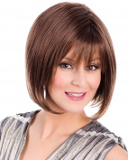 Luna Sleek Bob Wig Overlaping Bangs by Tony of Beverly Womens Wigs - Coconut Cream