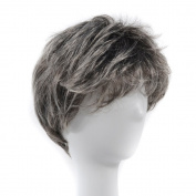 Deniya Grey Wig Costume Short Hair Grandpa Wig Cosplay Wig Old Man Wig