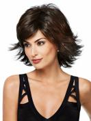 SmartFactory Short Curly European Synthetic Fibre Wig for Women