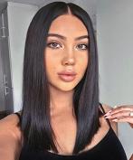 Ms Fenda Full Lace Wigs Brazilian Virgin Hair Human Hair 130% Density Wigs For Black Women Glueless Full Lace Wigs